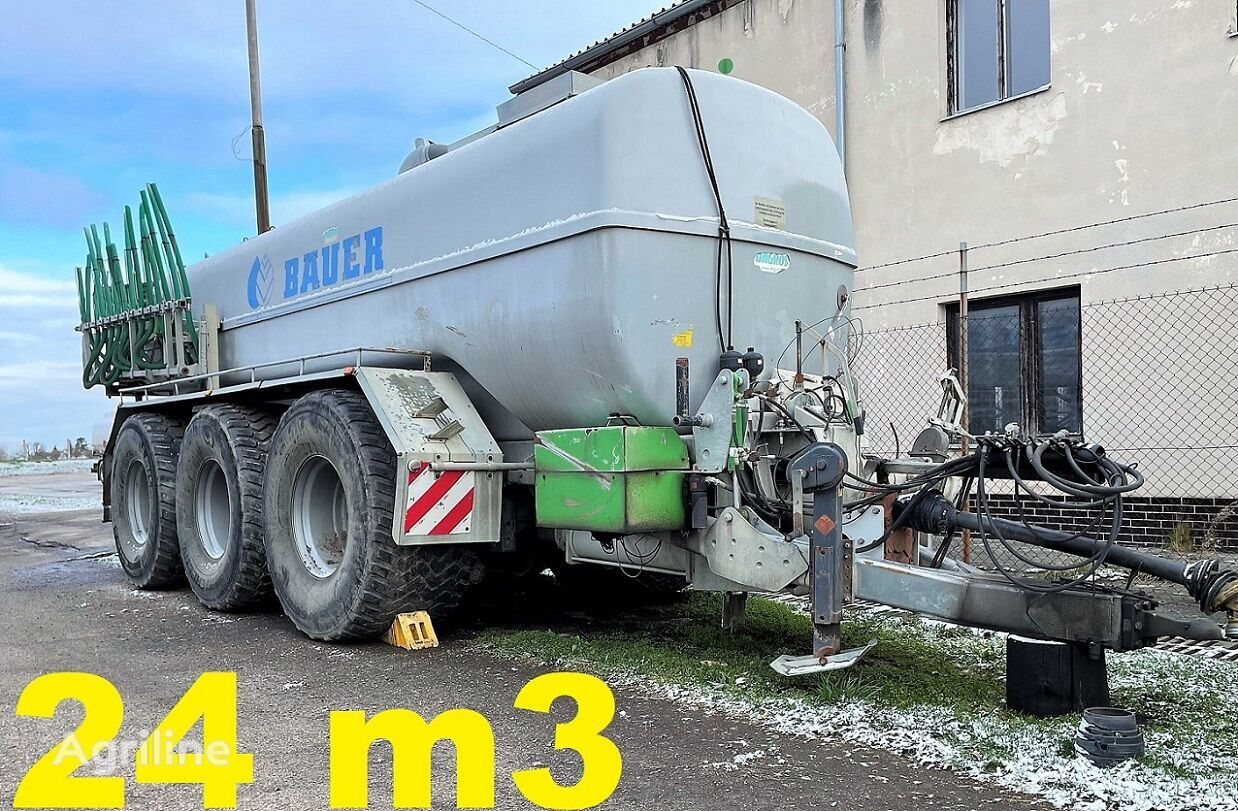 BAUER POLY 240 TLL liquid manure spreader