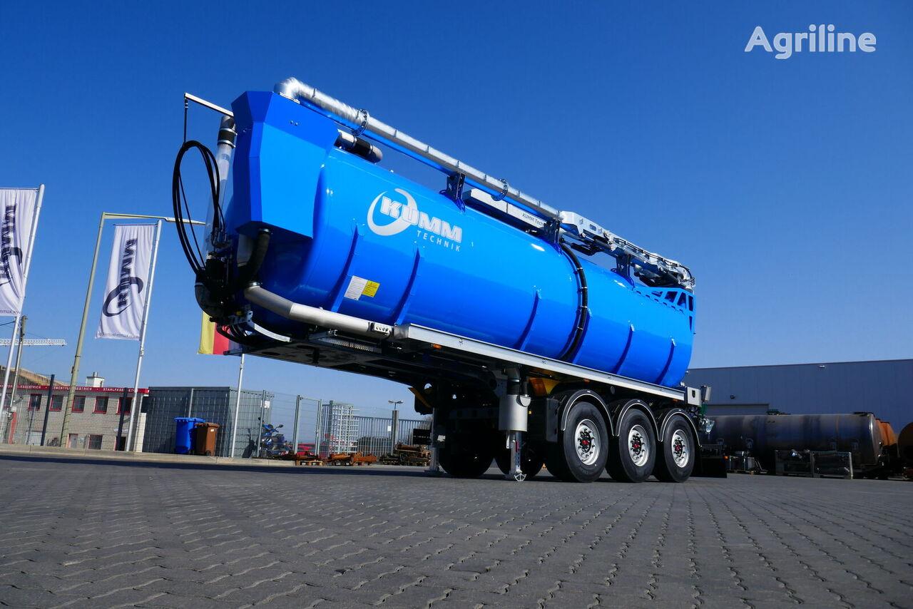 new KUMM KTS 30 liquid manure spreader