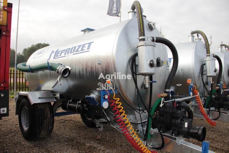 new MEPROZET Güllefässer/ Slurry tanker/ Wóz asenizacyjny 5000 l liquid manure spreader
