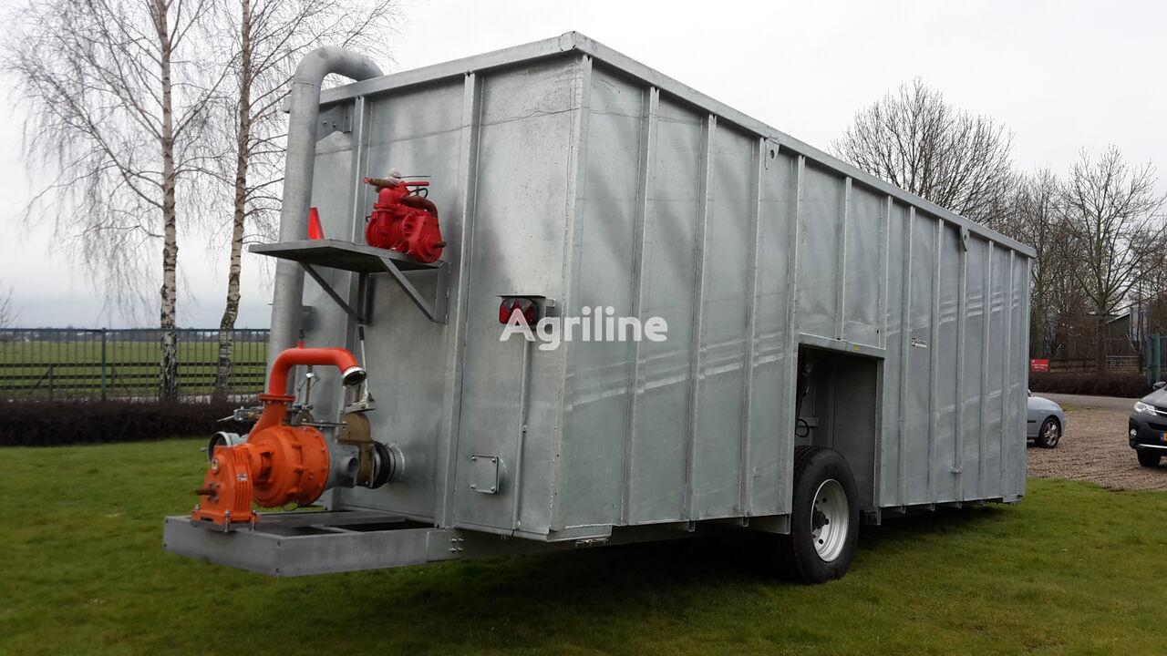 new Agomac gegalvaniseerde mest-pompcontainer manure container