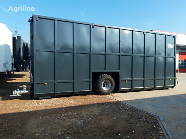 new Feldrandcontainer  manure container