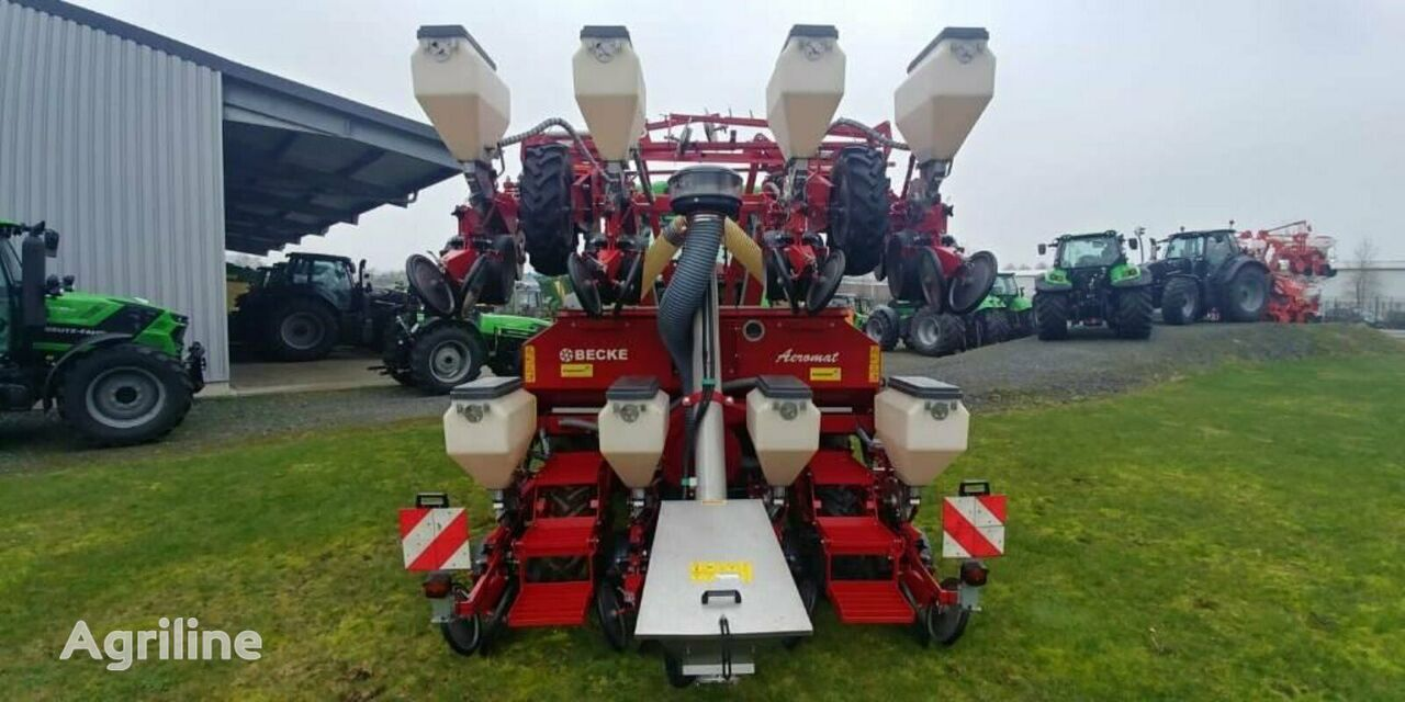 BECKER AEROMAT P 8 ZG HKP DTE mechanical precision seed drill