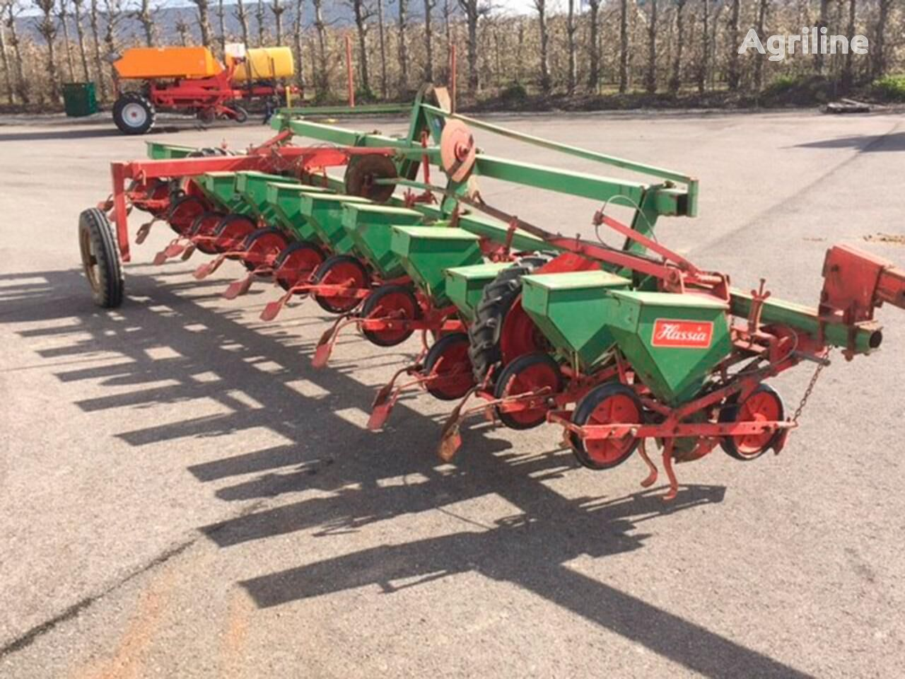 HASSIA mechanical precision seed drill