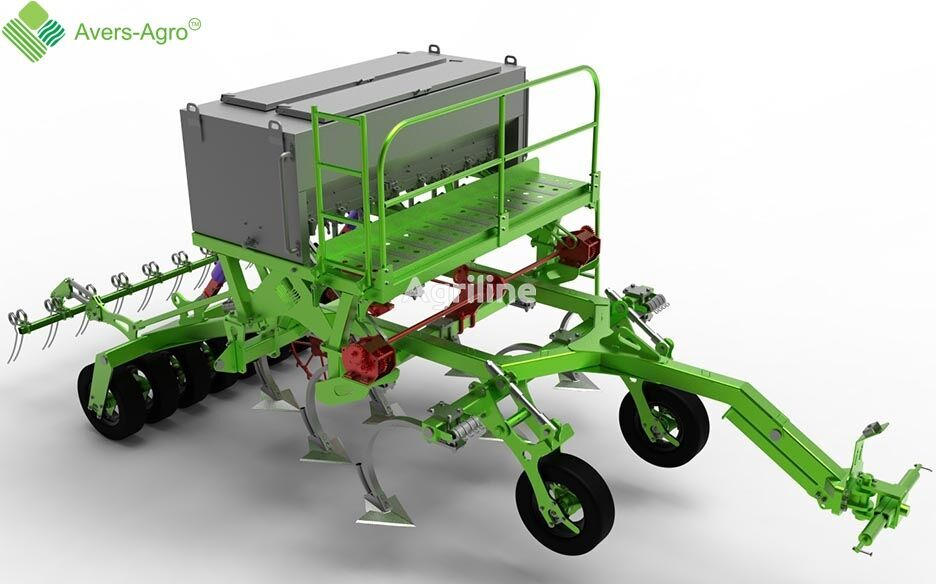 new Avers-Agro Seyalka ankernaya Green Plains ABM PRO 3,1 m mechanical seed drill