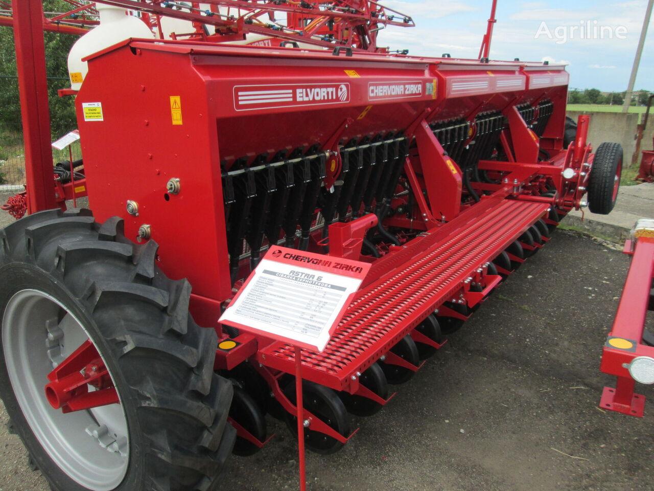 new ELVORTI (CHERVONA ZIRKA) SZ 3,6 / 4 / 5,4 / 6 (Astra Standart / Premium) mechanical seed drill