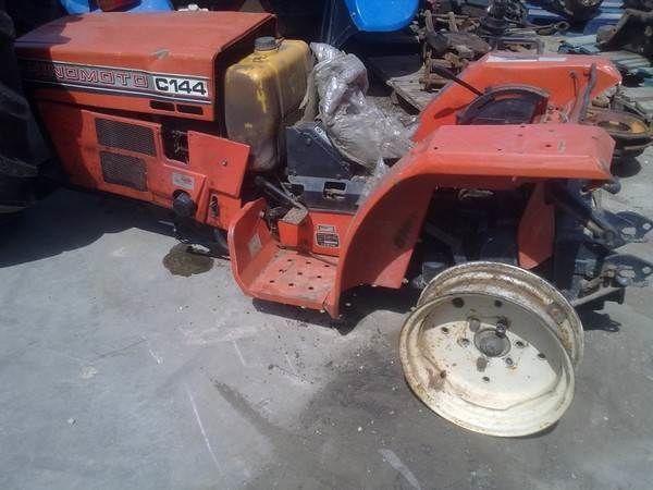 HINOMOTO C144 mini tractor