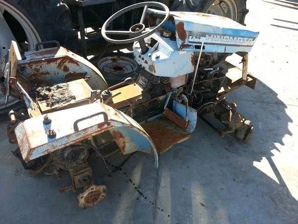HINOMOTO C174 mini tractor for parts