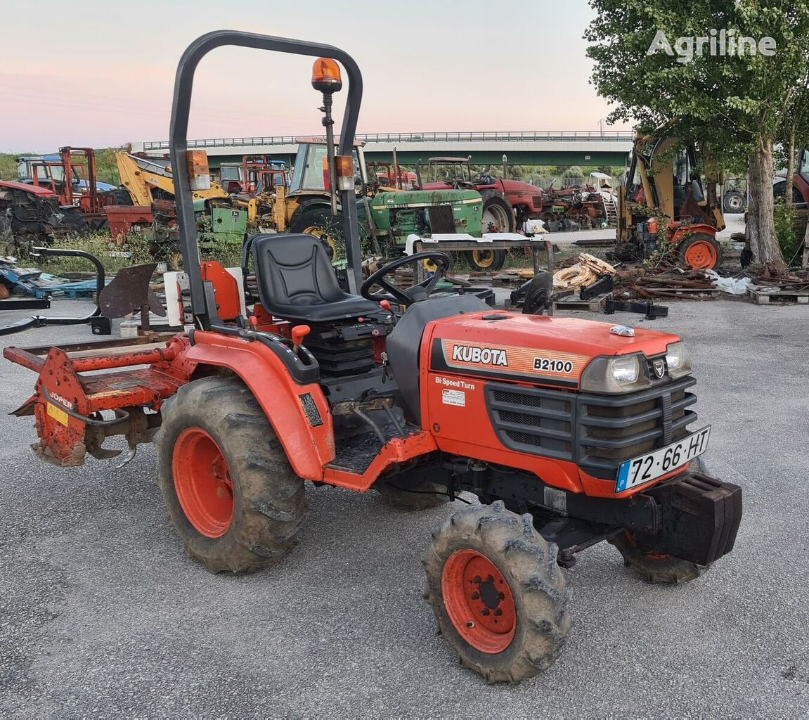 KUBOTA B2100  mini tractor