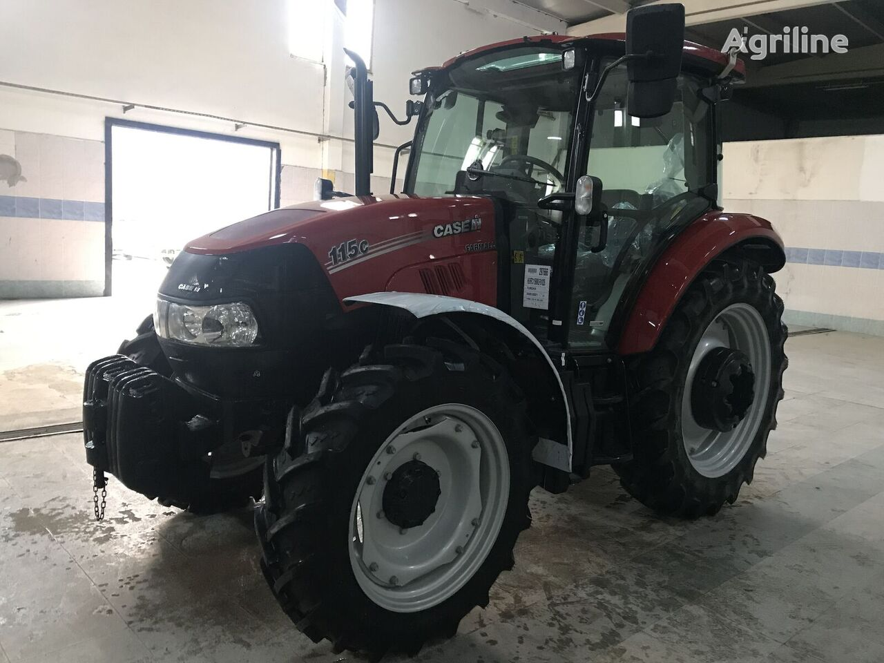 CASE IH JX 115 C mini tractor