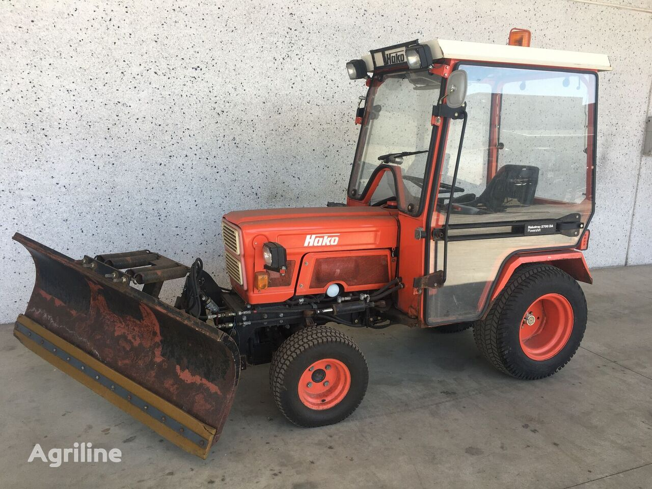 HAKOTRAC DA 2700 POWERSHIFT mini tractor
