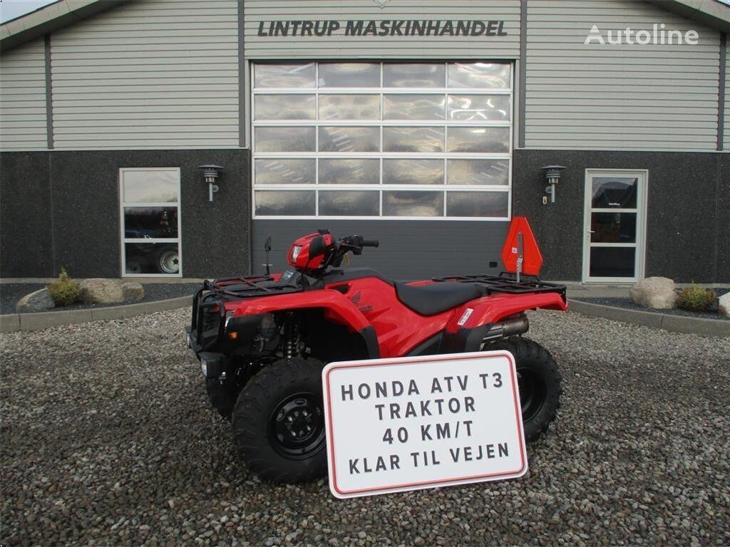 HONDA TRX 500FE Traktor mini tractor