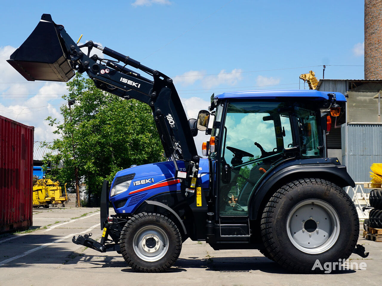 new ISEKI TG6675 mini tractor