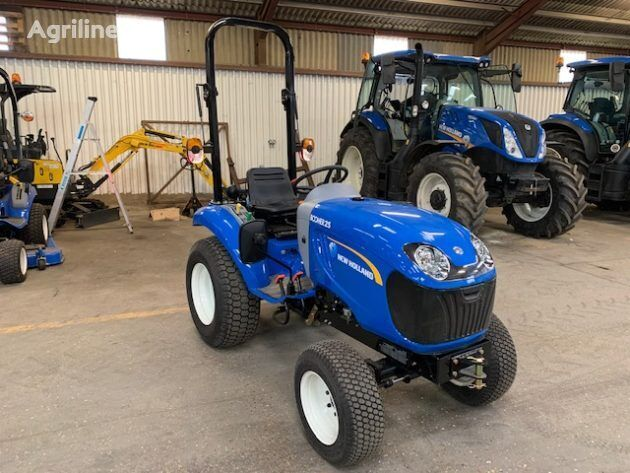 NEW HOLLAND Boomer 25 DEMO mini tractor