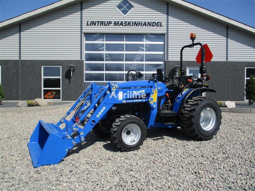 SOLIS 26 Facelift model og fuldhydraulisk frontlæsser mini tractor