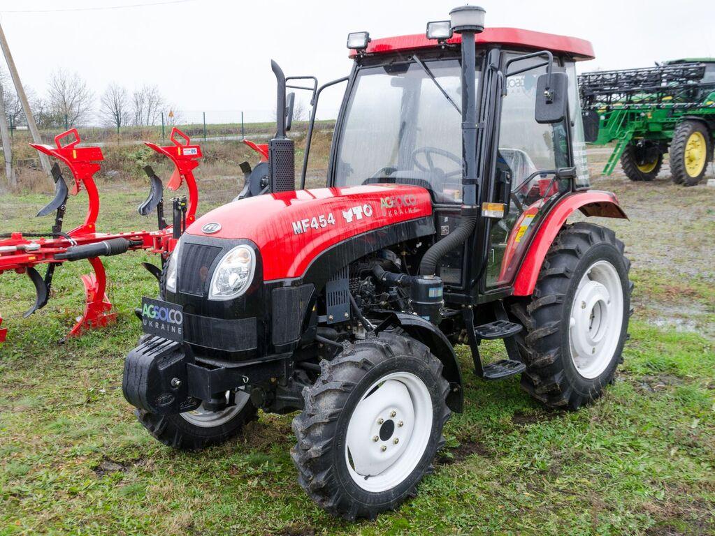 new YTO MF504 v Ukraine mini tractor