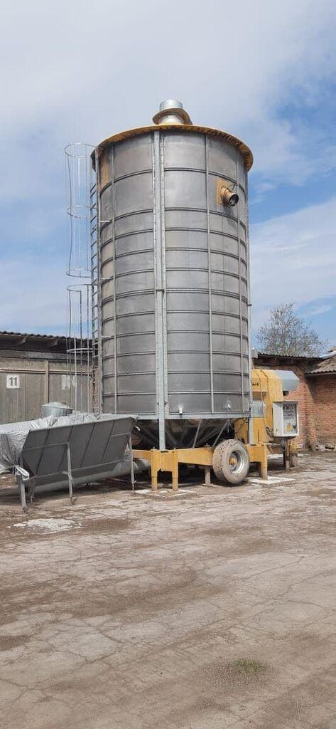 MECMAR S45/370F mobile grain dryer