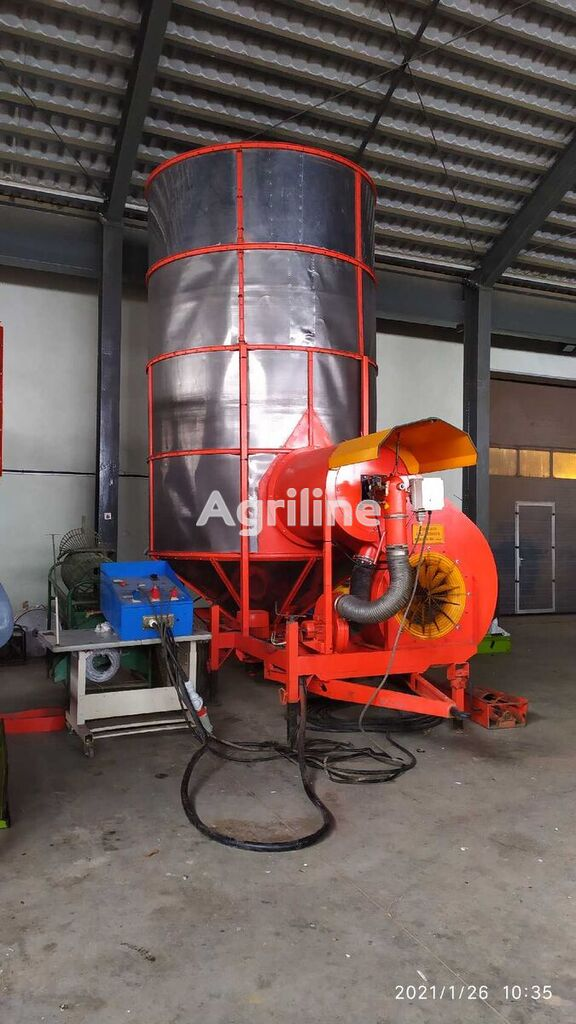 Pedrotti 12 ton TURBO mobile grain dryer