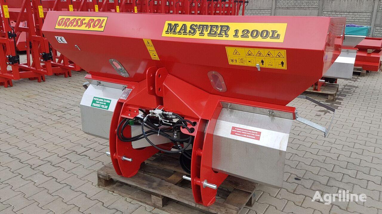 new GRASS-ROL Rozsiewacz nawozów 1200/ Düngerstreuer 1200  mounted fertilizer spreader
