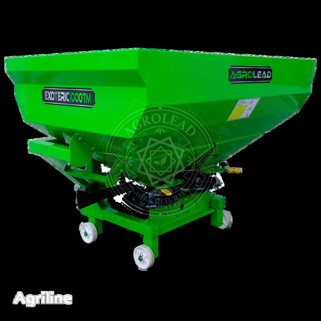 new AGROLEAD EXOTERIC 1000 TH ( s gidravlikoy) mounted fertilizer spreader