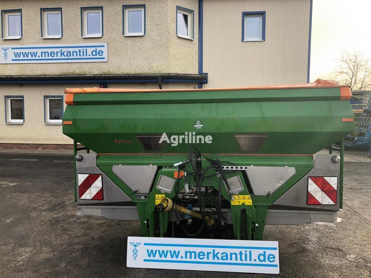 AMAZONE ZA-M Ultra Profis + Aufsatz mounted fertilizer spreader