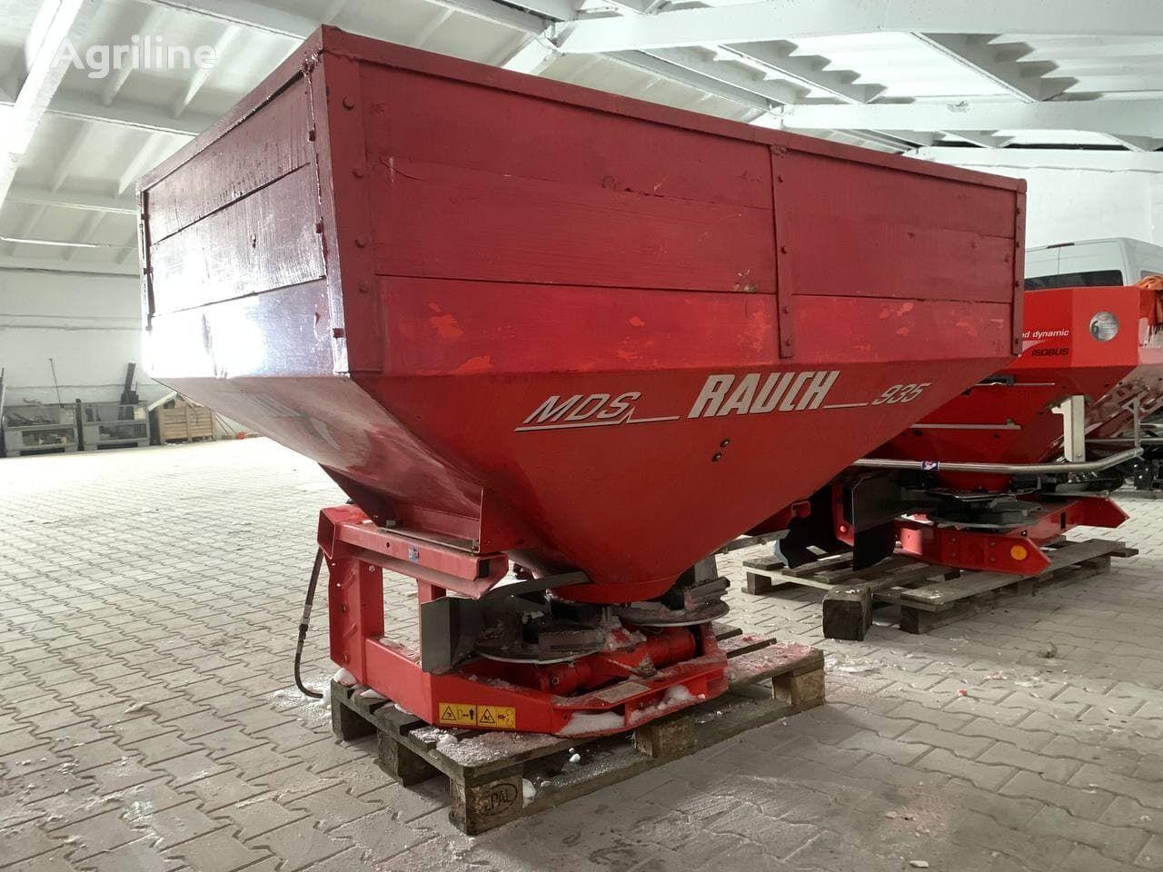 RAUCH Rozkidach dobriv MDS 935 mounted fertilizer spreader