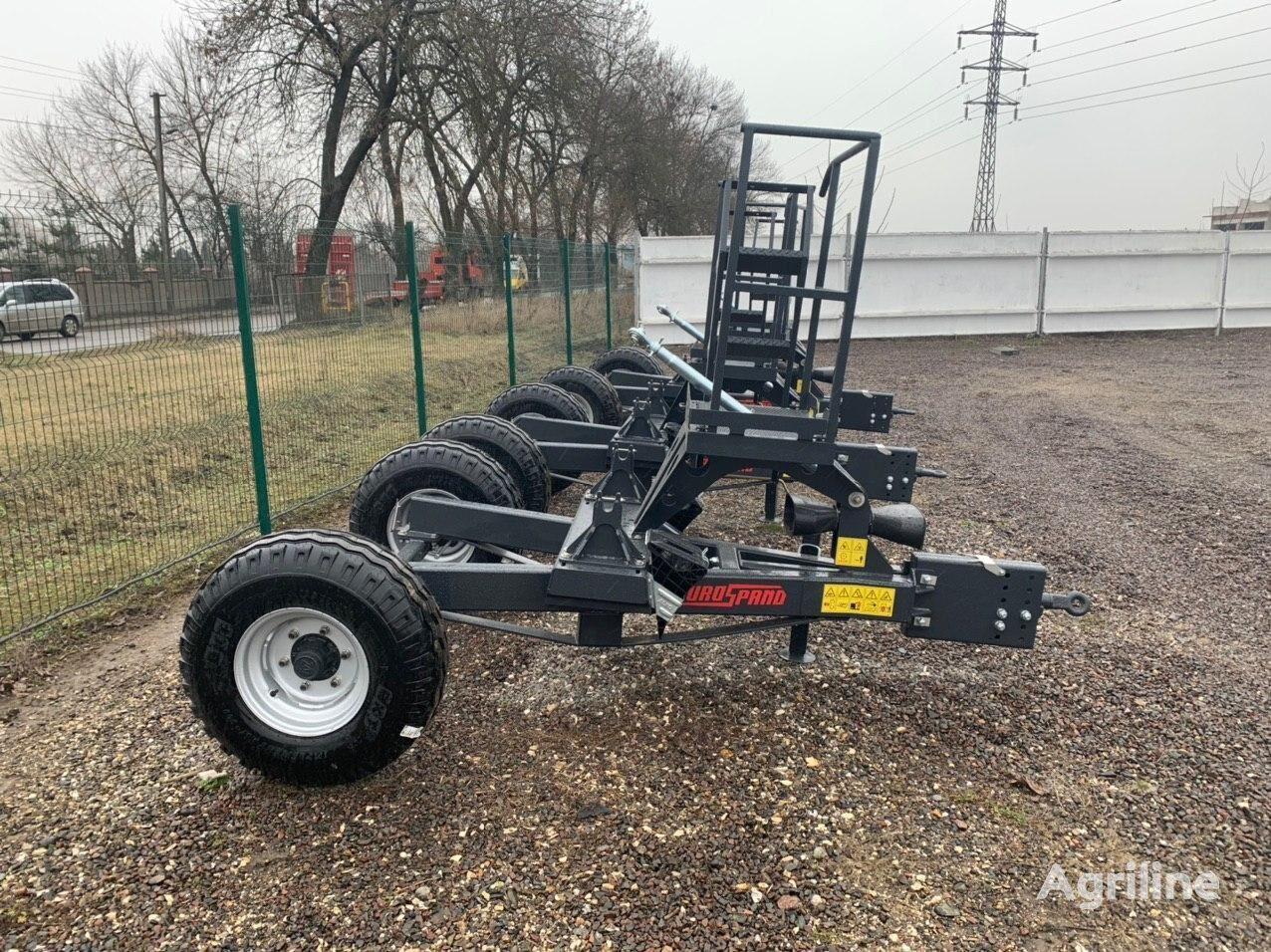 new RAUCH Vizok pid rozkidach dobriv - 4 tonni mounted fertilizer spreader
