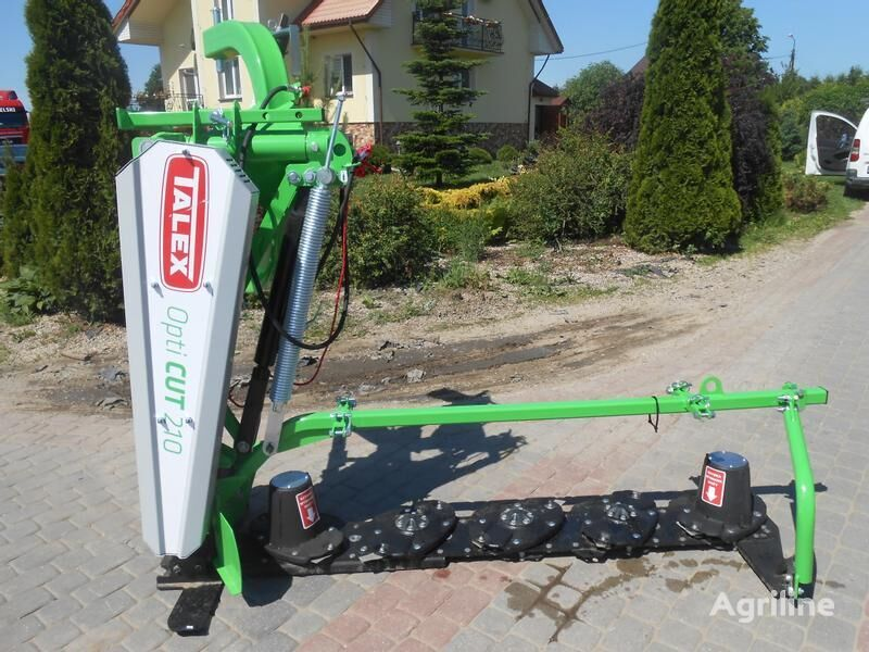 new TALEX Scheibenmähwerke/ Disc mower/ Kosiarka Opti CUT 210 mower