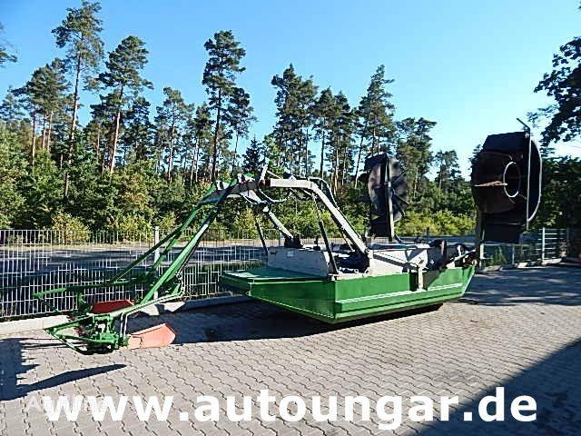 JOHN DEERE Mähboot Aquatic Berkey Gödde Mulag Weed Harvester other farm equipment