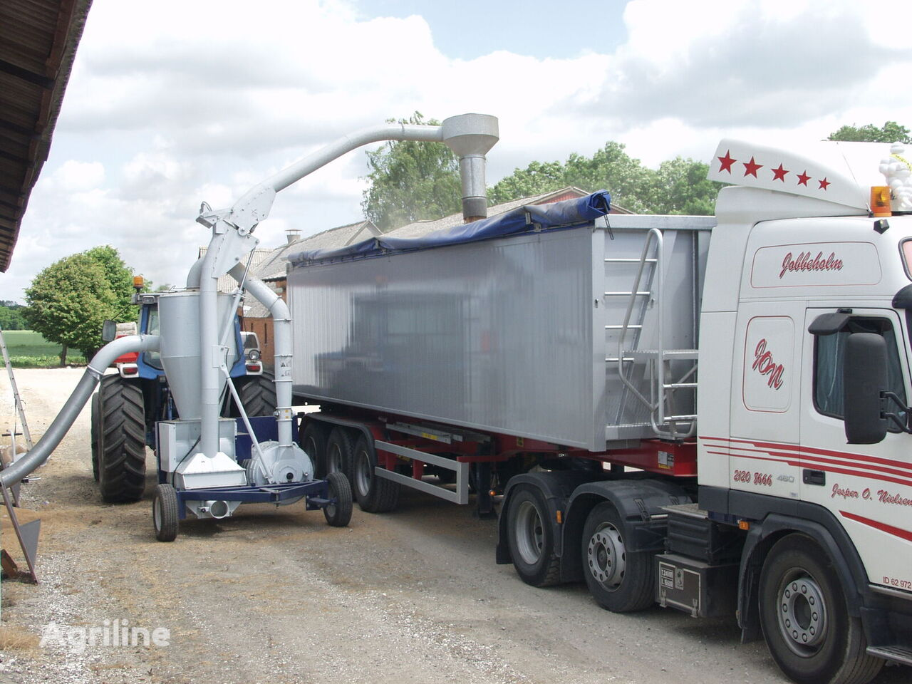 new KONGSKILDE  SUC1000 pneumatic grain conveyor