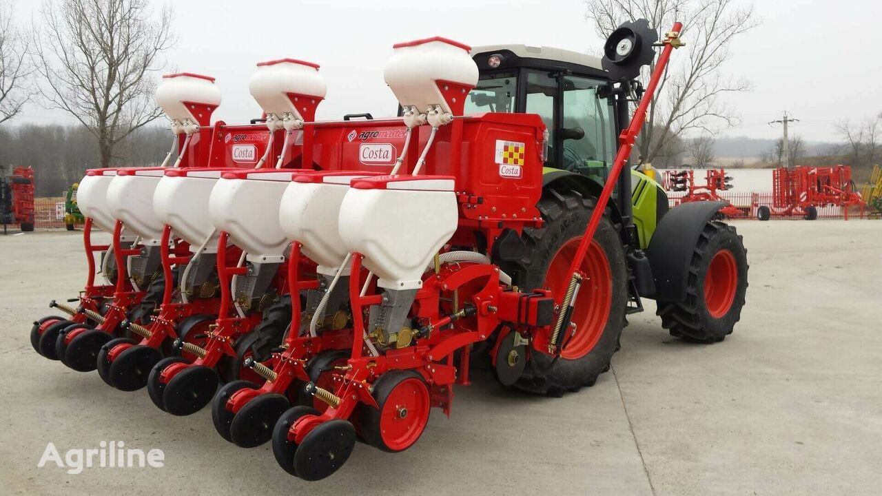 new Costa D6/2 pneumatic precision seed drill