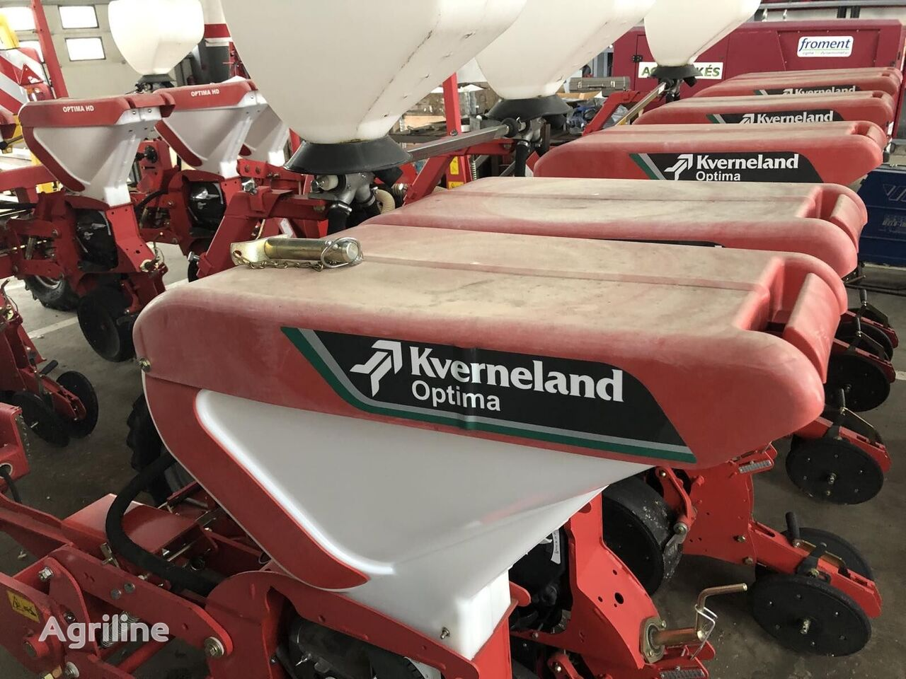 new KVERNELAND Optima HD 6 soros új vetőgép pneumatic precision seed drill