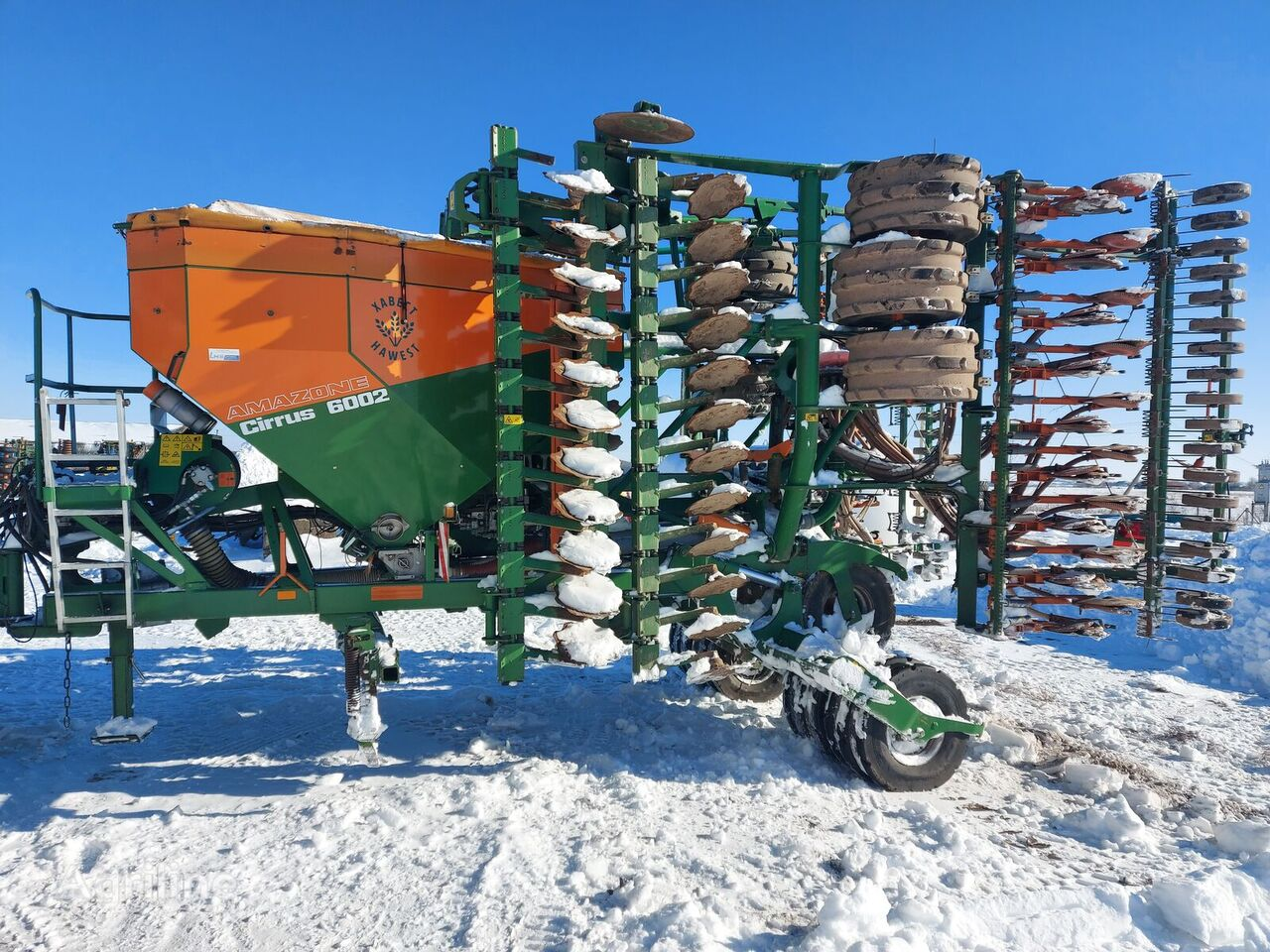 AMAZONE Cirrus 6002 Special pneumatic seed drill