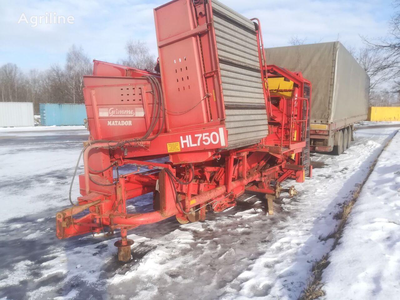 GRIMME HL 750 potato harvester