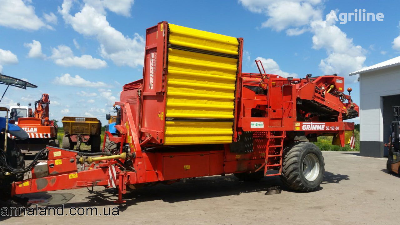 GRIMME SE 150-60 potato harvester