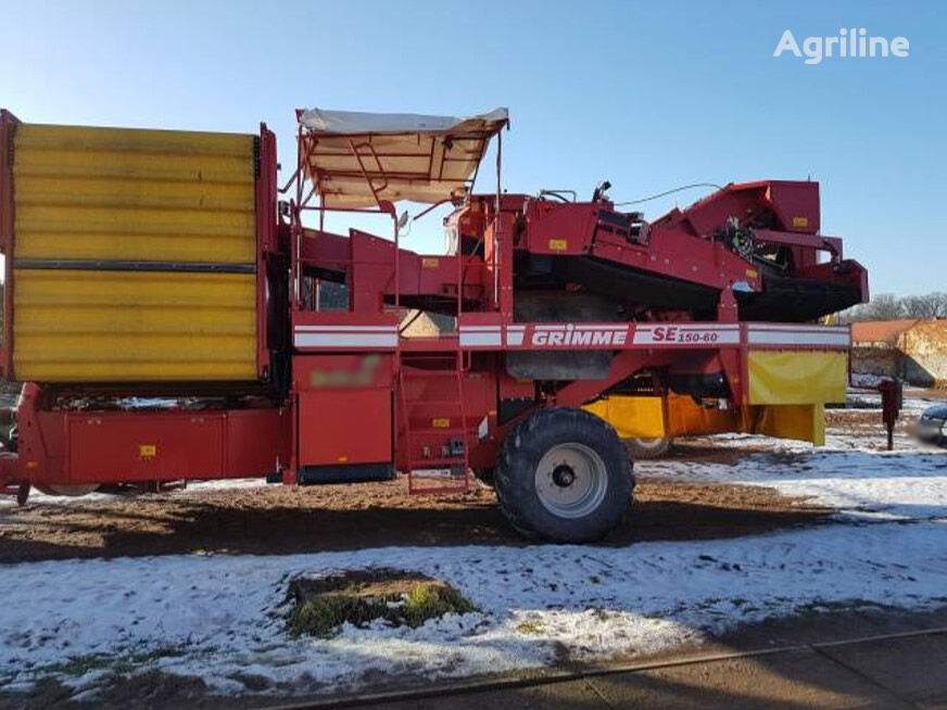 GRIMME SE 156-60 UB potato harvester
