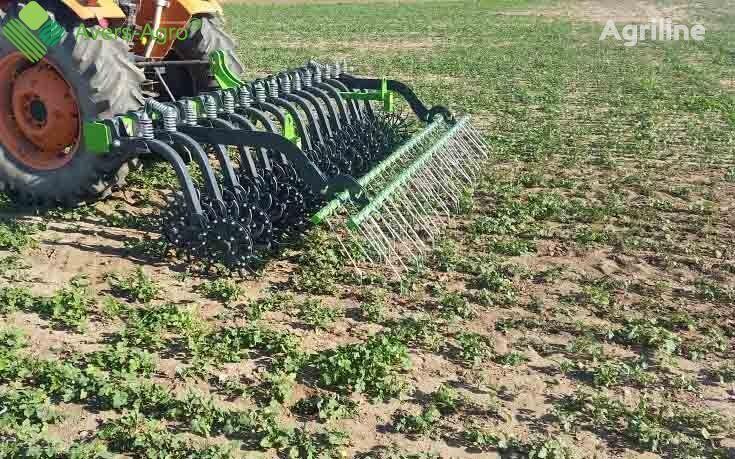 new Avers-Agro Green Star 4.2m so smennymi zubami  power harrow