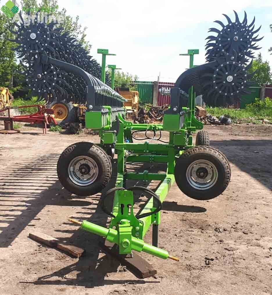 new Avers-Agro Borona rotacionnaya Green Star 12 m pricepnaya so smennymi zubami  power harrow