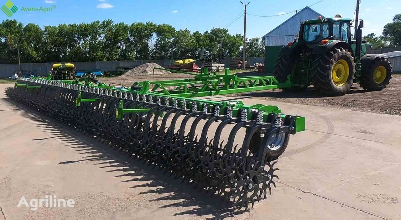 new Avers-Agro Borona rotacionnaya Green Star 14m Transformer s celnymi zubami power harrow