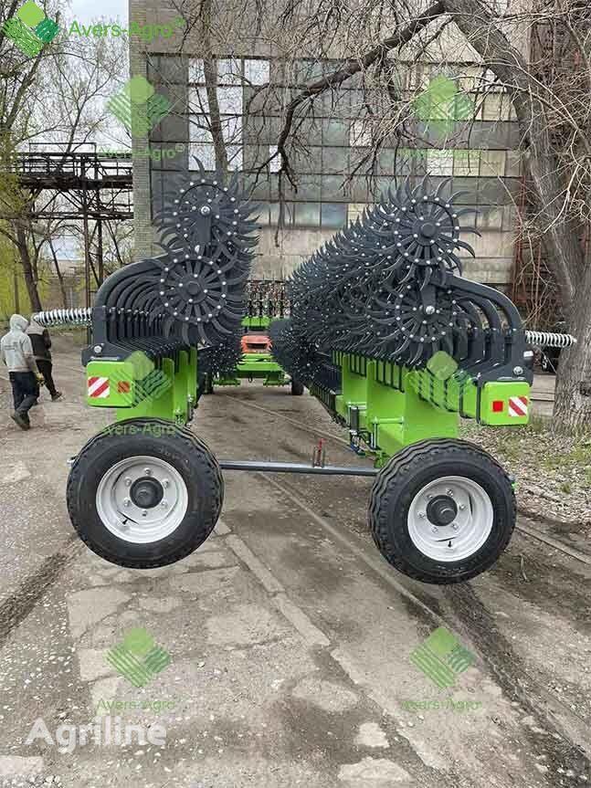new Avers-Agro Borona rotacionnaya Green Star 18 m pricepnaya so smennymi zubami power harrow