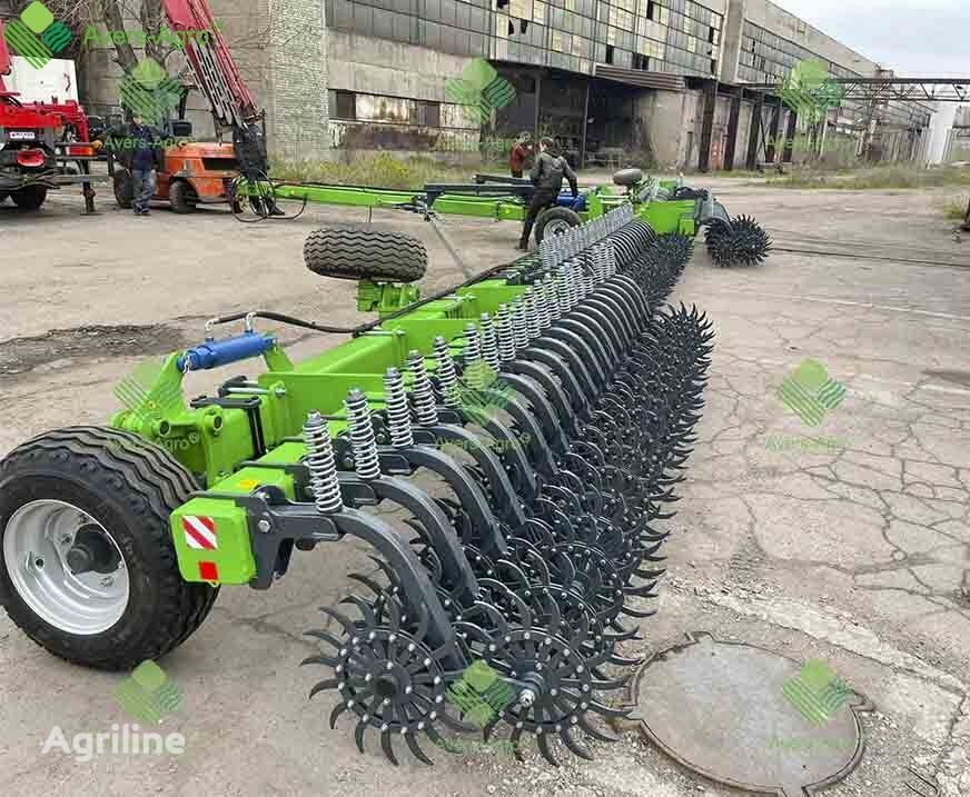 new Avers-Agro Borona rotacionnaya Green Star 27 m pricepnaya s celnymi rabochimi power harrow