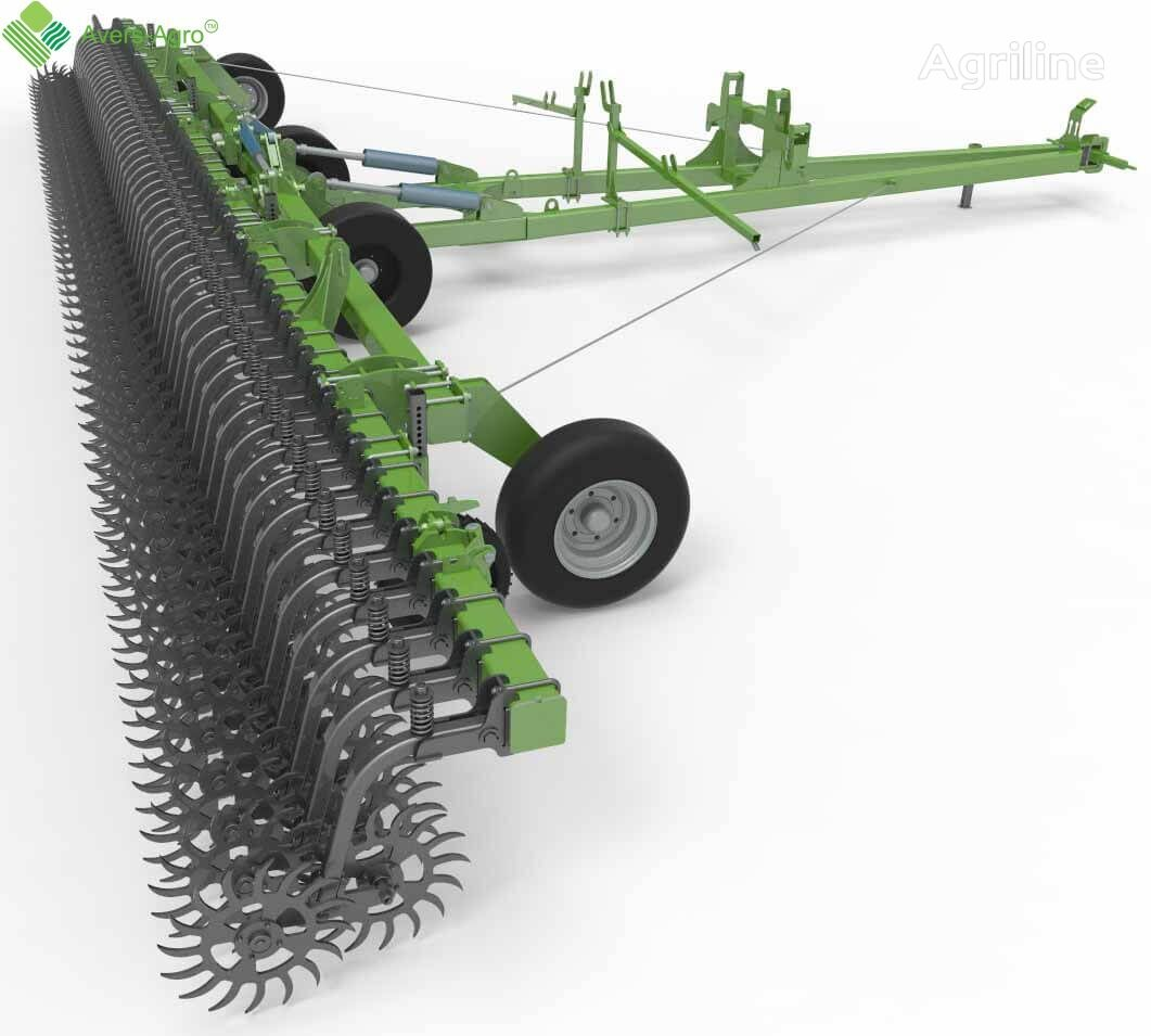 new Avers-Agro Borona rotacionnaya Green Star Transformer 12 m pricepnaya s celn power harrow