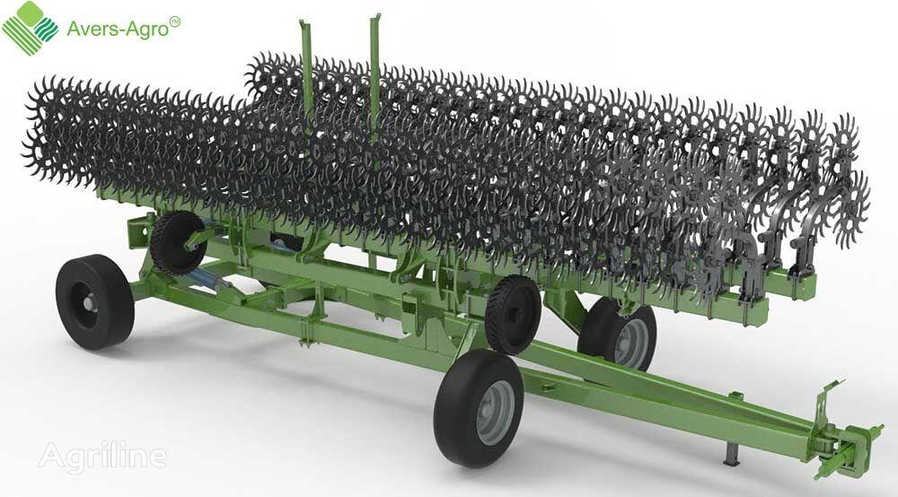 new Avers-Agro Borona rotacionnaya Green Star Transformer 12 m pricepnaya so smen power harrow