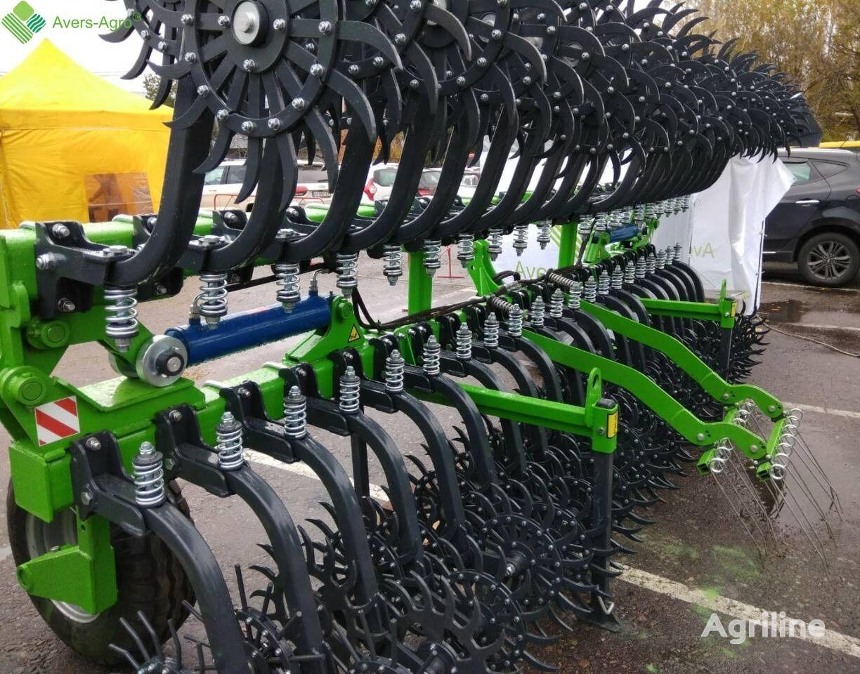 new Avers-Agro Skrebnica borony rotacionnoy 9m power harrow