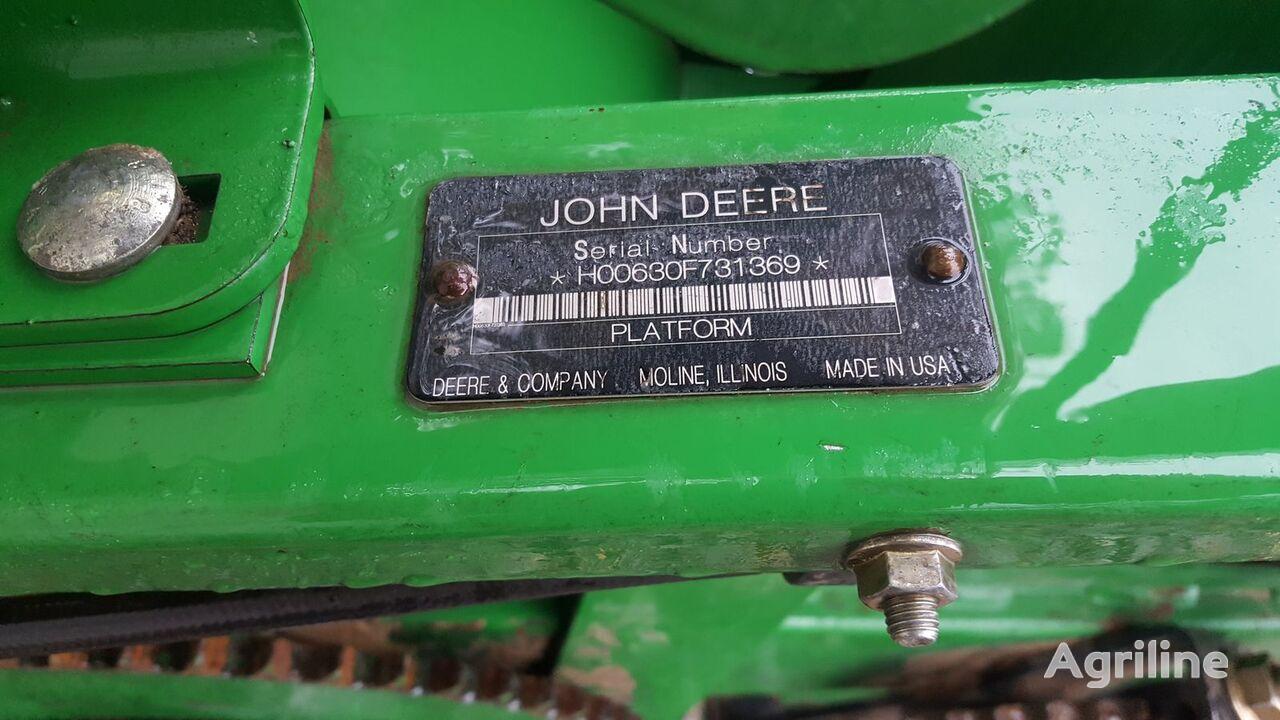 JOHN DEERE F630 Hydra Flex reaper