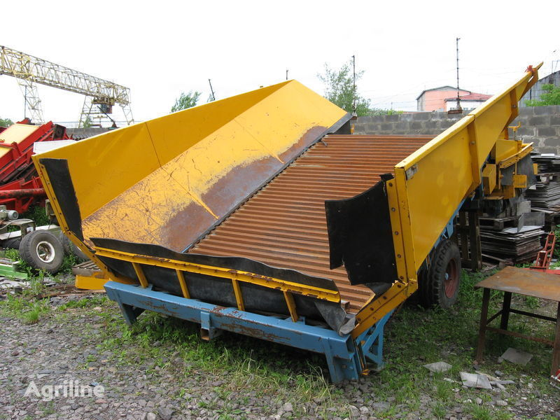 CLIMAX CSB 700 receiving hopper
