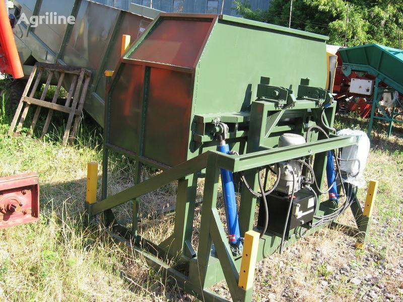 new KEULMAC oprokidyvatel ovoshchnyh konteynerov receiving hopper