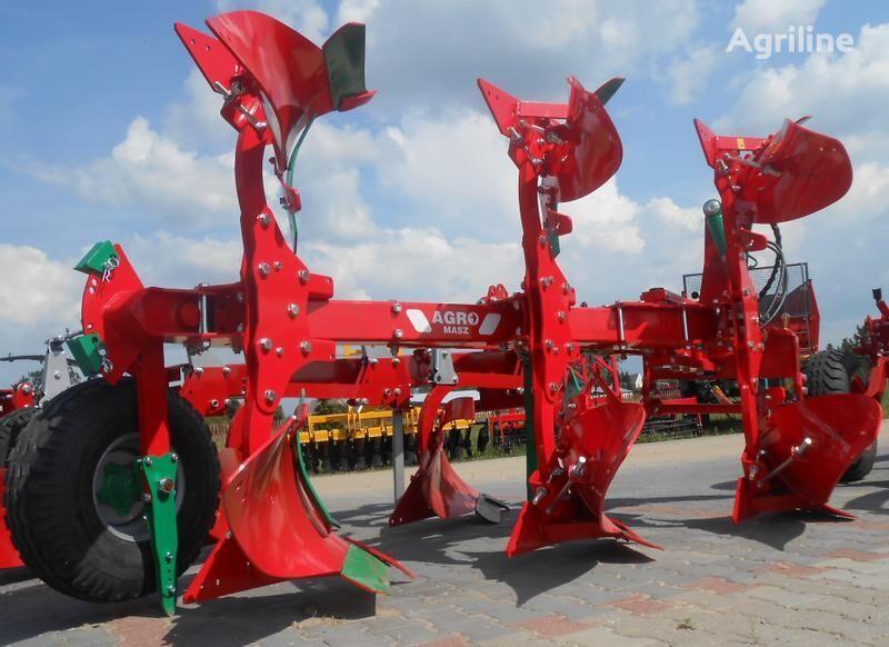 new AGRO-MASZ Drehpflug/ Rotary plow/ Pług obrotowy 3-skibowy reversible plough