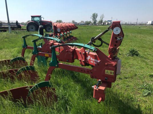 new KVERNELAND AB 100 3 reversible plough