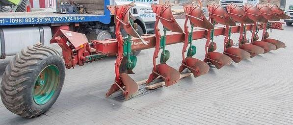 KVERNELAND RB 100 reversible plough