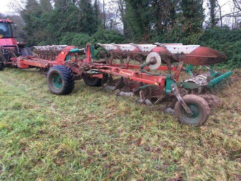 KVERNELAND RW100 10 reversible plough